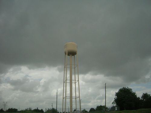 tower n clouds