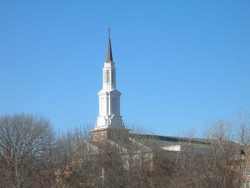 massive steeple