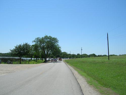bicyclists herd