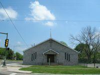 a smaller steeple