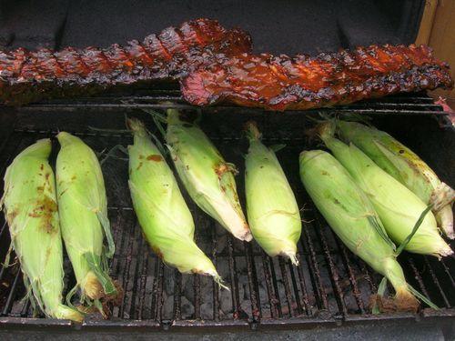 corn on the bbq