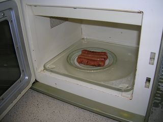 microwave oven food
