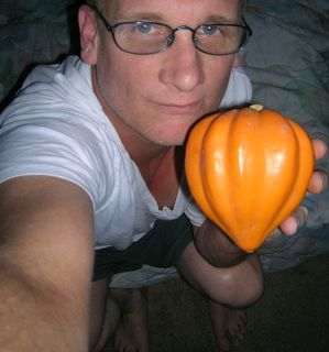 me and acorn squash