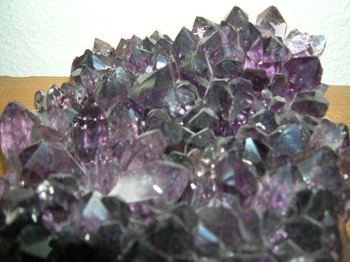 purple cristals