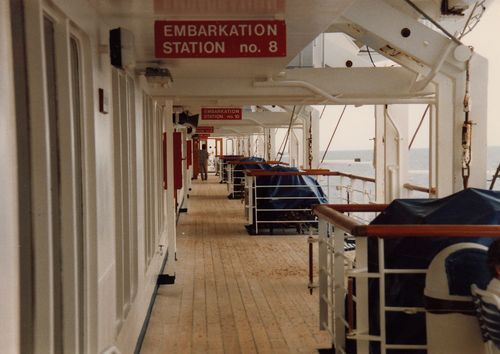 Embarkation station