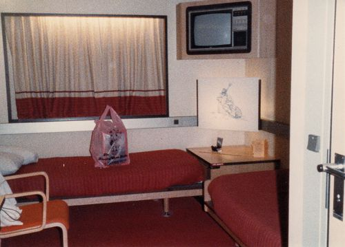 The cruse ship interior
