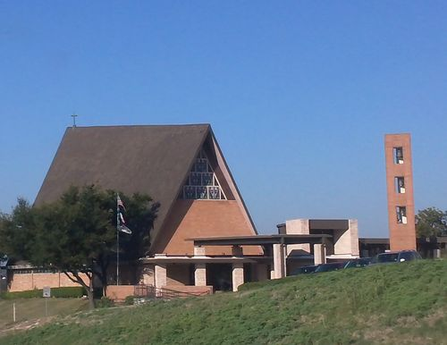 Bell tower and cross steeple